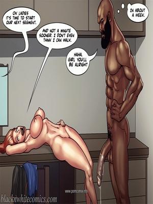Interracial : BlacknWhite- Art Class- Bnw Porn Comic sex 38