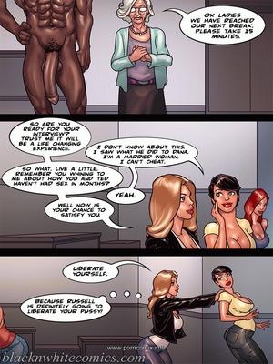 Interracial : BlacknWhite- Art Class- Bnw Porn Comic sex 42