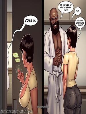 Interracial : BlacknWhite- Art Class- Bnw Porn Comic sex 43