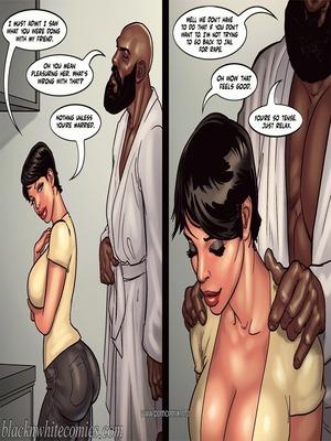 Interracial Comics BlacknWhite- Art Class- Bnw Porn Comic 44