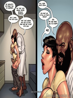 Interracial : BlacknWhite- Art Class- Bnw Porn Comic sex 47
