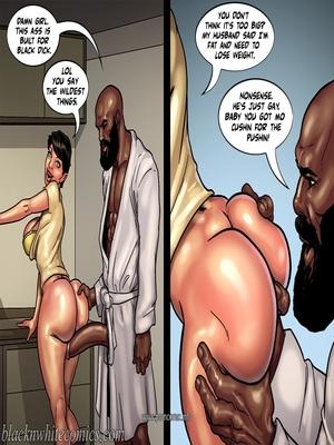 Interracial : BlacknWhite- Art Class- Bnw Porn Comic sex 48