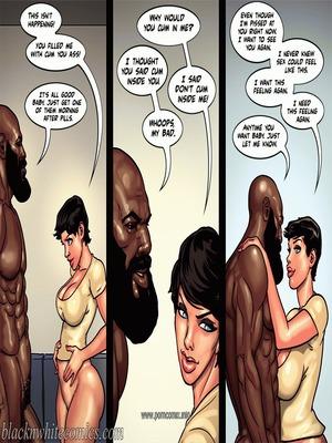Interracial Comics BlacknWhite- Art Class- Bnw Porn Comic 65