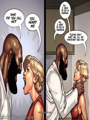 Interracial : BlacknWhite- Art Class- Bnw Porn Comic sex 69