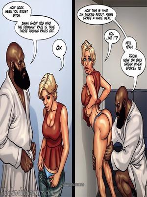 Interracial : BlacknWhite- Art Class- Bnw Porn Comic sex 70
