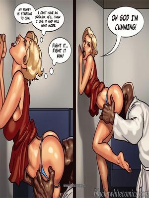 Interracial Comics BlacknWhite- Art Class- Bnw Porn Comic 73
