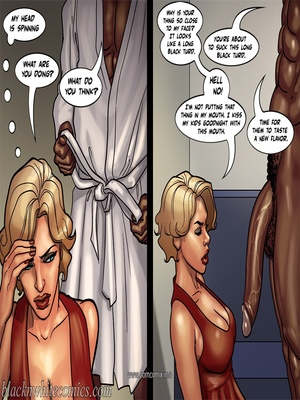 Interracial Comics BlacknWhite- Art Class- Bnw Porn Comic 75
