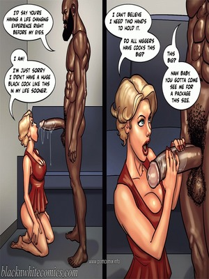 Interracial : BlacknWhite- Art Class- Bnw Porn Comic sex 79