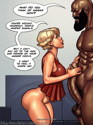 Interracial : BlacknWhite- Art Class- Bnw Porn Comic sex 80