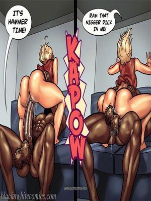 Interracial : BlacknWhite- Art Class- Bnw Porn Comic sex 87