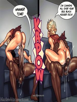 Interracial : BlacknWhite- Art Class- Bnw Porn Comic sex 89