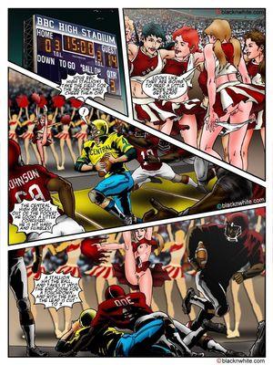 Interracial Comics BlacknWhite- BBC HIGH The Head cheerleader 3 Porn Comic 08