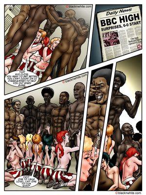 Interracial Comics BlacknWhite- BBC HIGH The Head cheerleader 3 Porn Comic 09