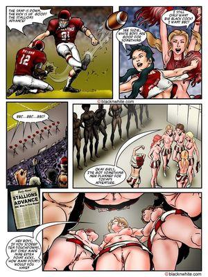 Interracial Comics BlacknWhite- BBC HIGH The Head cheerleader 3 Porn Comic 11