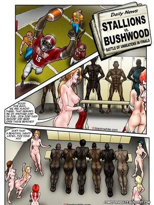 Interracial Comics BlacknWhite- BBC HIGH The Head cheerleader 3 Porn Comic 17