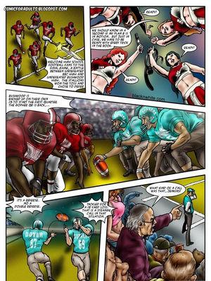 Interracial Comics BlacknWhite- BBC HIGH The Head cheerleader 3 Porn Comic 22