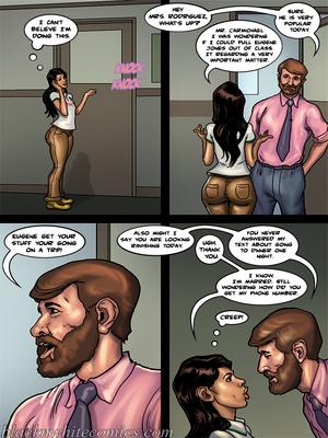 Interracial Comics BlacknWhite- Detention 2 Porn Comic 10