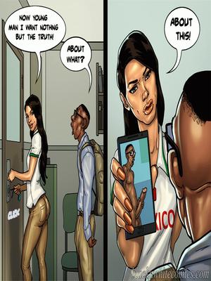 Interracial Comics BlacknWhite- Detention 2 Porn Comic 12