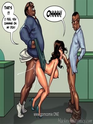 Interracial Comics BlacknWhite- Detention 2 Porn Comic 36