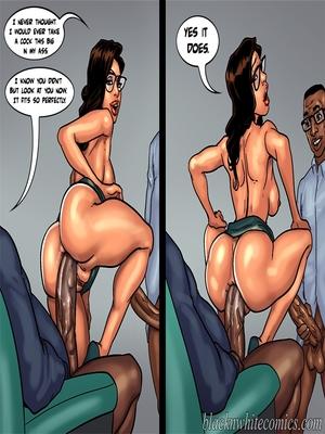Interracial Comics BlacknWhite- Detention 2 Porn Comic 39