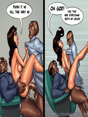 Interracial Comics BlacknWhite- Detention 2 Porn Comic 43