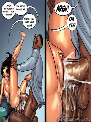 Interracial Comics BlacknWhite- Detention 2 Porn Comic 45