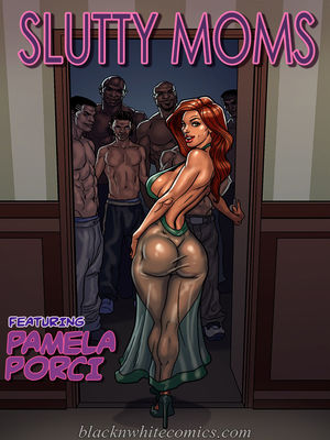 Porn Comics - BlacknWhite- Slutty Moms free Porn Comic