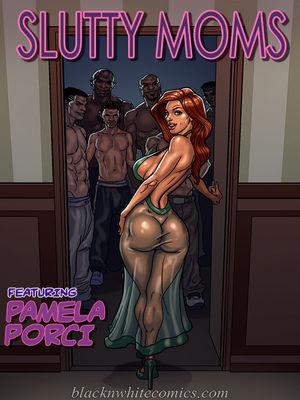 Porn Comics - BlacknWhite- Slutty Moms free Porn Comic