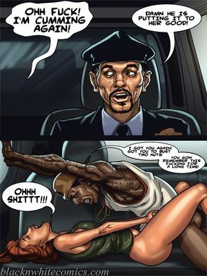 Interracial Comics BlacknWhite-The KarASSians the Next Generation Porn Comic 02