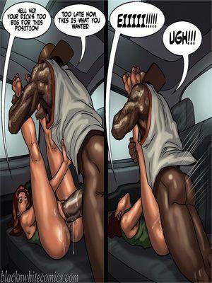 Interracial Comics BlacknWhite-The KarASSians the Next Generation Porn Comic 03