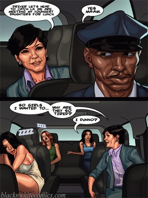 Interracial Comics BlacknWhite-The KarASSians the Next Generation Porn Comic 08