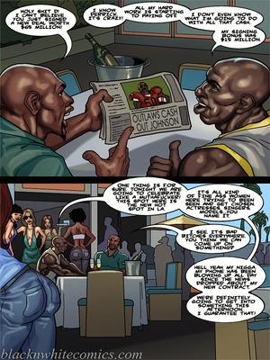 Interracial Comics BlacknWhite-The KarASSians the Next Generation Porn Comic 09