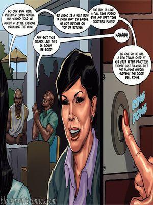 Interracial Comics BlacknWhite-The KarASSians the Next Generation Porn Comic 12
