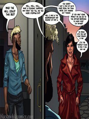 Interracial Comics BlacknWhite-The KarASSians the Next Generation Porn Comic 13
