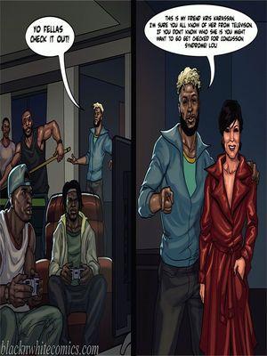 Interracial Comics BlacknWhite-The KarASSians the Next Generation Porn Comic 14