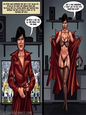 Interracial Comics BlacknWhite-The KarASSians the Next Generation Porn Comic 15