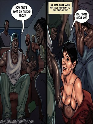 Interracial Comics BlacknWhite-The KarASSians the Next Generation Porn Comic 16