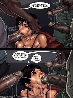 Interracial Comics BlacknWhite-The KarASSians the Next Generation Porn Comic 18