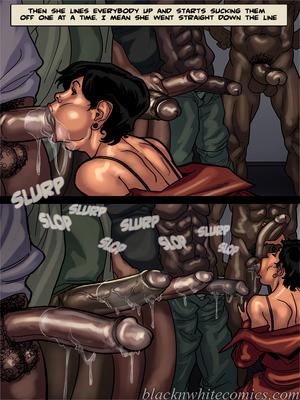 Interracial Comics BlacknWhite-The KarASSians the Next Generation Porn Comic 19