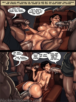 Interracial Comics BlacknWhite-The KarASSians the Next Generation Porn Comic 21