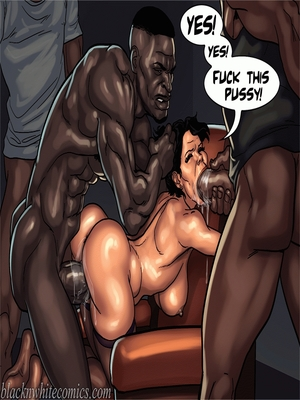 Interracial Comics BlacknWhite-The KarASSians the Next Generation Porn Comic 22