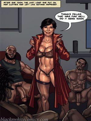 Interracial Comics BlacknWhite-The KarASSians the Next Generation Porn Comic 25