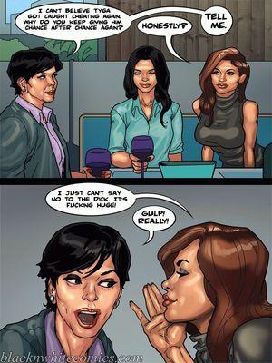 Interracial Comics BlacknWhite-The KarASSians the Next Generation Porn Comic 27