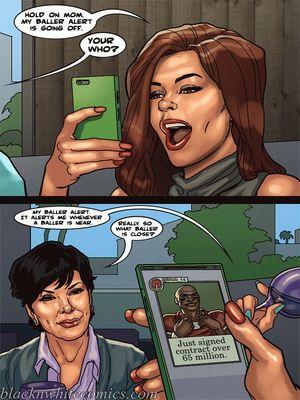 Interracial Comics BlacknWhite-The KarASSians the Next Generation Porn Comic 28