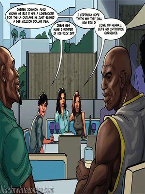 Interracial Comics BlacknWhite-The KarASSians the Next Generation Porn Comic 29