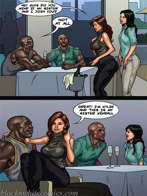 Interracial Comics BlacknWhite-The KarASSians the Next Generation Porn Comic 30