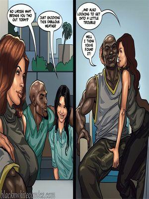 Interracial Comics BlacknWhite-The KarASSians the Next Generation Porn Comic 31
