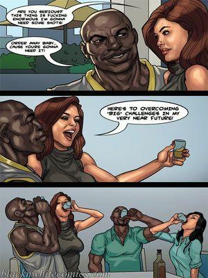 Interracial Comics BlacknWhite-The KarASSians the Next Generation Porn Comic 32