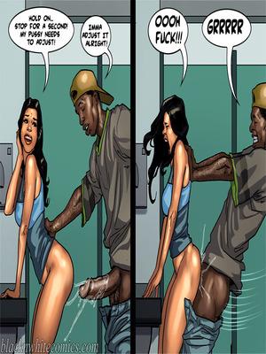 Interracial Comics BlacknWhite-The KarASSians the Next Generation Porn Comic 43