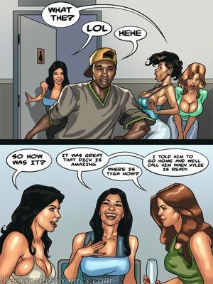 Interracial Comics BlacknWhite-The KarASSians the Next Generation Porn Comic 51